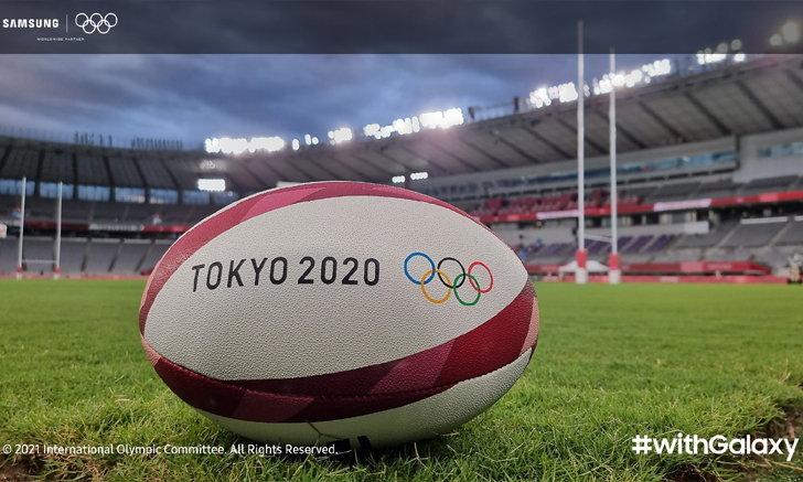 ส่องช็อตเด็ด #withGalaxy ส่งตรงจากโอลิมปิก โตเกียว 2020