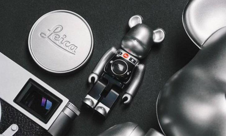 Leica x Medicom Toy เตรียมออก BE@RBRICK ธีมกล้องไลก้าสำหรับนักสะสม