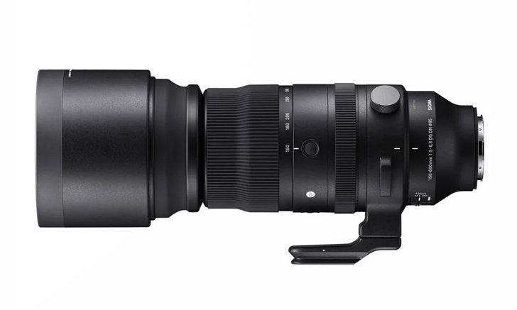 เปิดตัว SIGMA 150-600mm F5-6.3 DG DN OS Sports สำหรับกล้องฟูลเฟรมมิเรอร์เลส