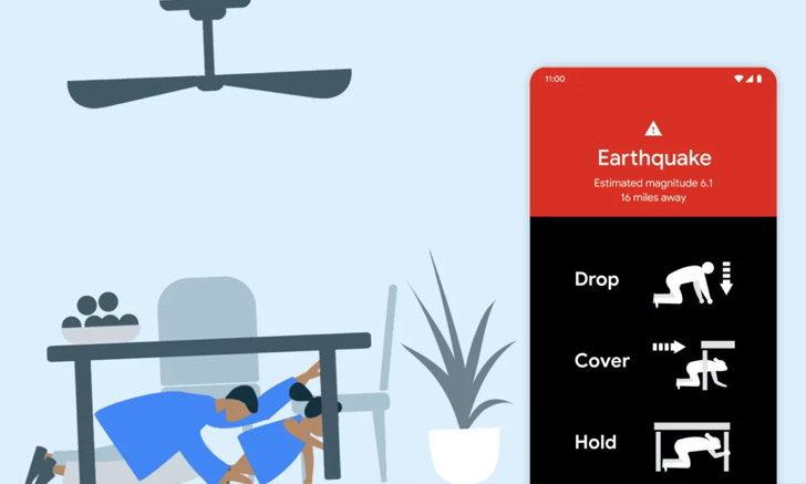 ใช้ได้จริง!! ระบบแจ้งเตือนแผ่นดินไหวบน Android แจ้งผู้ใช้ให้รู้ก่อนเกิดเหตุในฟิลิปปินส์