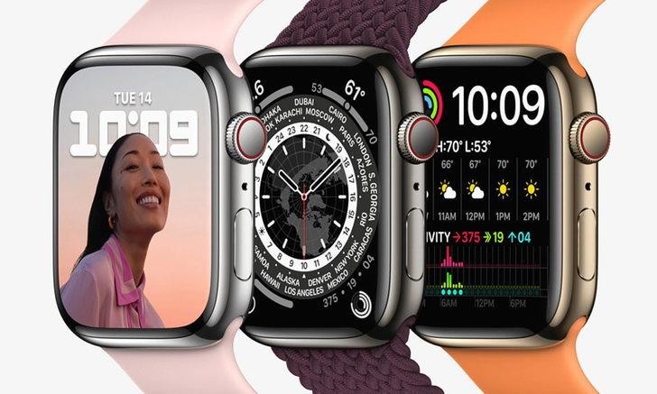 """เปิดตัว """"Apple Watch Series 7"""" แข็งแรงขึ้น พร้อมเป็นเพื่อนไปกับคุณได้ทุกที่"""
