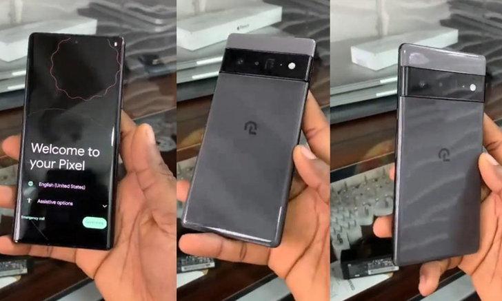 หลุดตัวเครื่อง Google Pixel 6 Pro รุ่นต้นแบบ
