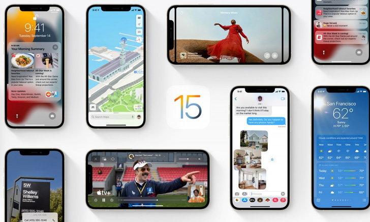 Apple ปล่อยอัปเดต iOS 15.1 Beta ให้กับนักพัฒนา แก้ปัญหาภายใน iOS 15 รอบแรก