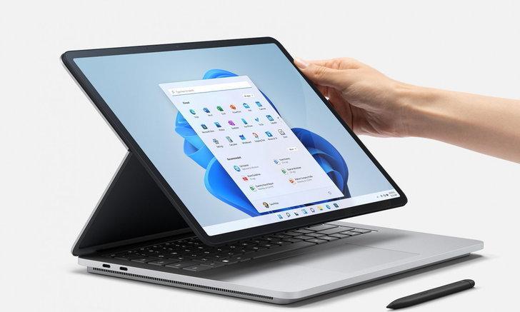 เปิดตัว Surface Laptop Studio คอมพิวเตอร์ระดับโปรแปลงร่างเป็น Tablet ได้