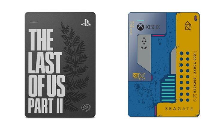 """ซีเกทเปิดตัวฮาร์ดไดรฟ์รุ่นลิมิเต็ดสำหรับคอเกม """"The Last of Us Part II"""" และ """"Cyberpunk 2077"""""""