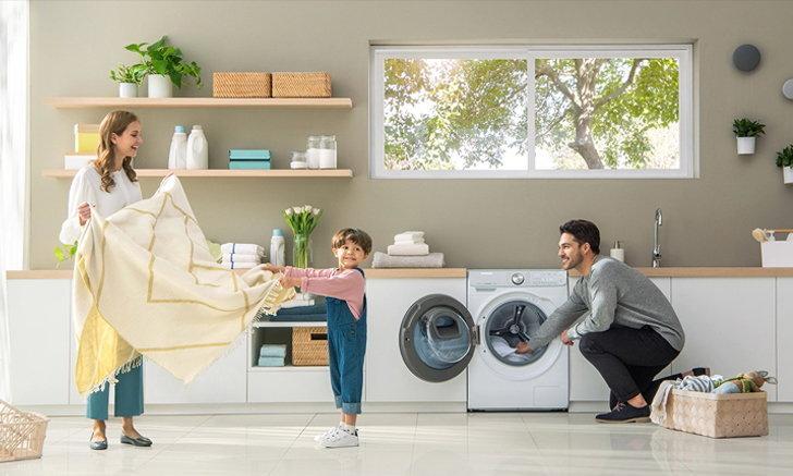 ซัมซุงชวนปรับตัวรับ New Normal ในยุคที่ความสะอาดต้องมาก่อน  กับ Samsung Caring Mode