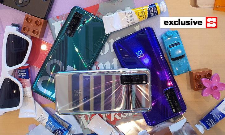 พาสัมผัส Huawei Nova 7 และ Nova 7 SE มือถือ 5G ราคามหาชน