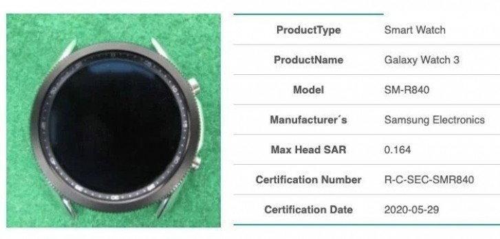 ชมภาพหน้าปัดของ Samsung Galaxy Watch 3
