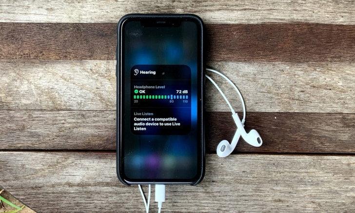 iOS 14 เพิ่มฟีเจอร์บอกความดังหูฟัง ป้องกันหูพังได้