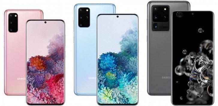 Samsung Galaxy S20 Series ได้รับอัปเดต
