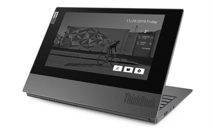 Lenovo เปิดตัว Thinkbook Plus คอมพิวเตอร์แบบ Multi Tasking พร้อมหน้าจอ e-ink สลับการทำงานได้ลงตัว