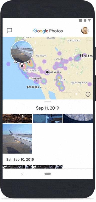 Google Photos Mapviews