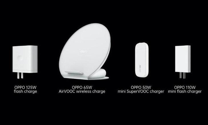 OPPO เปิดตัว 4 อุปกรณ์ชาร์จไฟที่เน้นเความเร็วในการชาร์จไฟเร็วสุด 125W และไร้สายกำลัง 65W