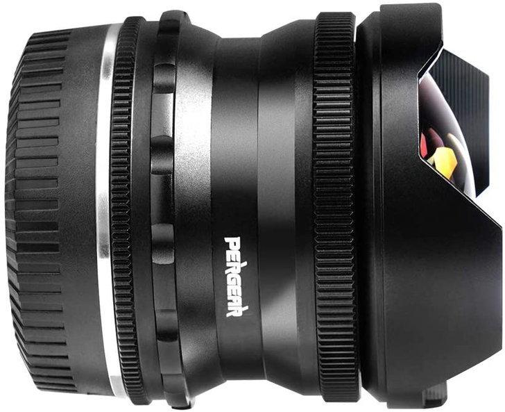 Pergear 7.5mm f/2.8 fisheye
