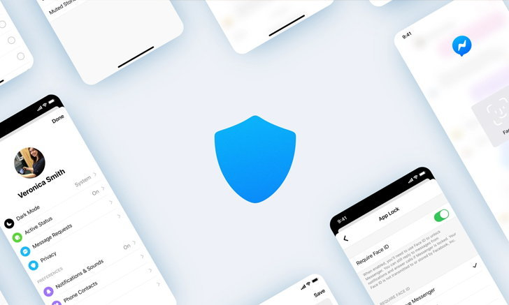 Messenger เปิดตัว App Lock คุ้มกันแชตด้วย Face ID และ Touch ID