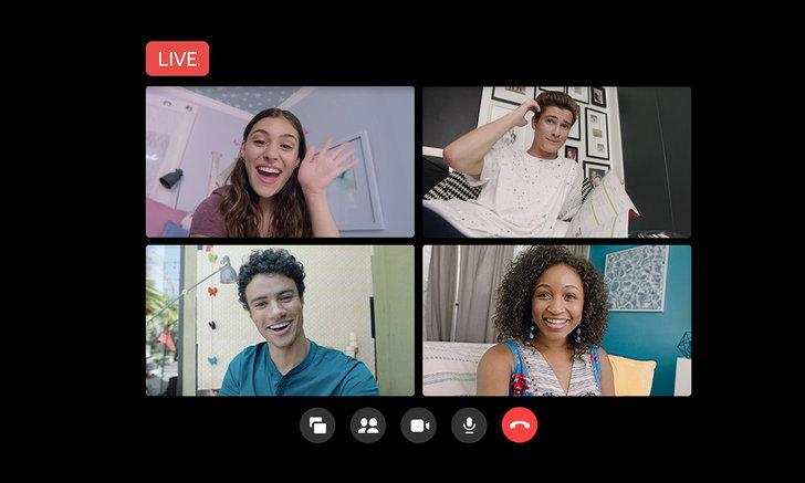 Facebook Liveเพิ่มการเปิดการพูดคุยเป็นกลุ่มผ่านMessenger Roomได้แล้ววันนี้