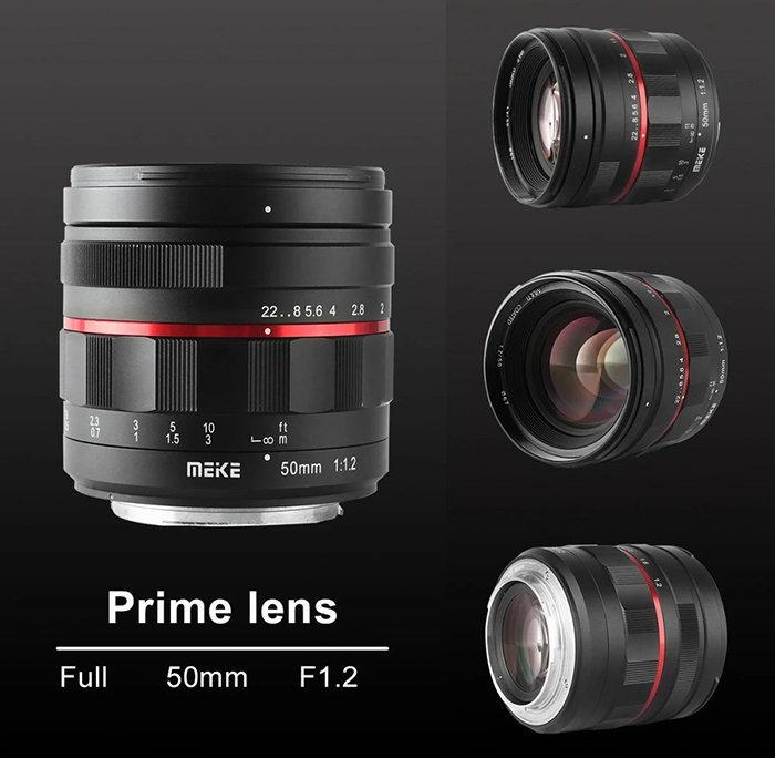 Meike 50mm f/1.2 manual focus
