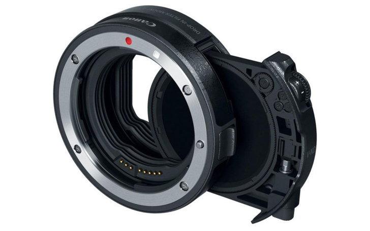 Canon EF to RF mount adapter ที่สามารถใส่ ND ฟิลเตอร์ได้สำหรับใช้ในงานวิดีโอ