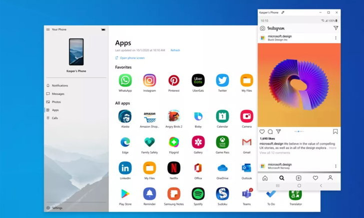 เจ๋ง! Microsoft เปิดให้ผู้ใช้งานรันแอป Android บน Windows 10 ผ่านโปรแกรม Your Phone