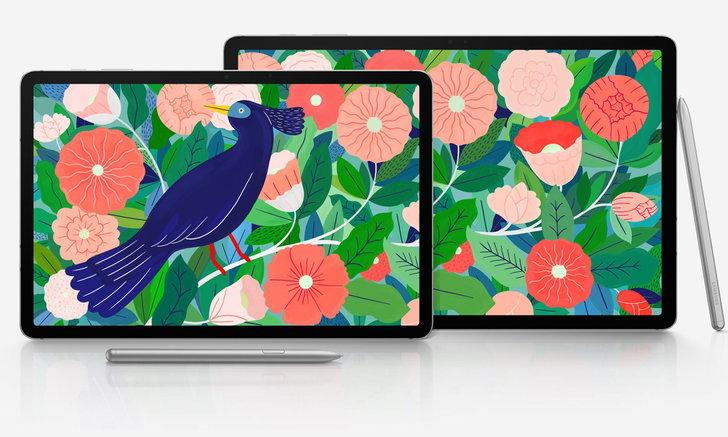 ชมภาพSamsung Galaxy Tab S7 / S7+ฉบับจริงก่อนเปิดตัวในสัปดาห์หน้า