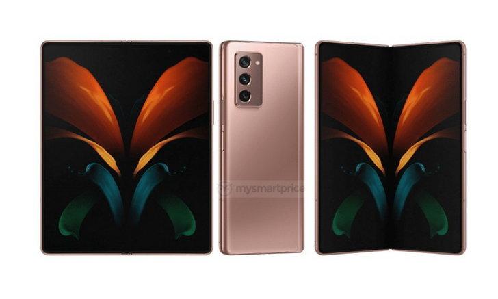 เผยภาพแรกของ Samsung Galaxy Z Fold 2 มือถือพับได้รุ่นใหม่ก่อนเปิดสัปดาห์หน้า