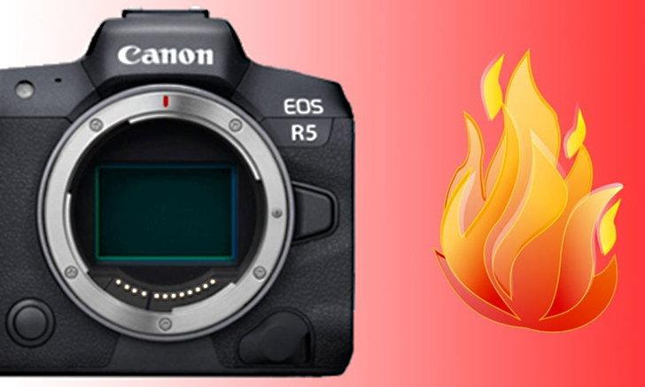 Canon เลื่อนการจัดส่งกล้อง EOS R5 ออกไปเนื่องจากปัญหาด้านความร้อน