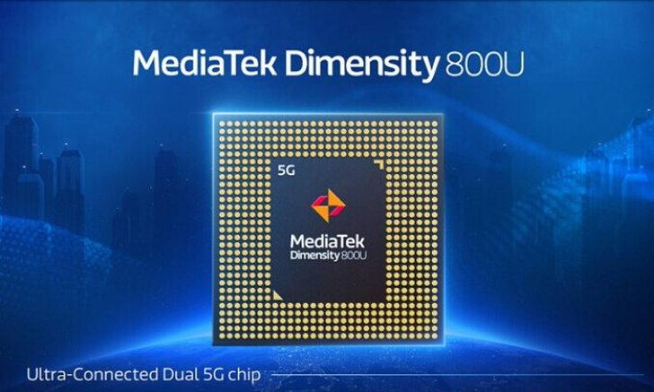 MediaTekเผยโฉมDimensity800Uขุมพลังจิ๋วที่แรงขึ้นและรองรับ5GในแบบDual SIM