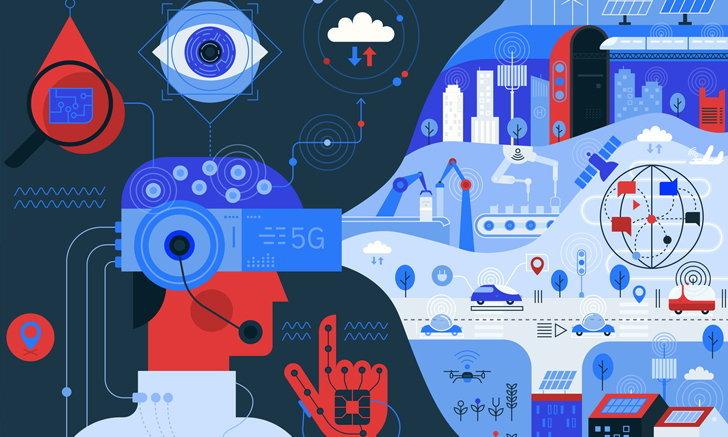 เทคโนโลยี 5G กับการสานฝันสู่ระบบอินเทอร์เน็ตของประสาทสัมผัส