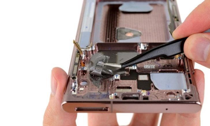 iFixit โชว์ชำแหละเครื่อง Samsung Galaxy Note 20 Ultra พบเปลี่ยนดีไซน์ภายในเล็กน้อย
