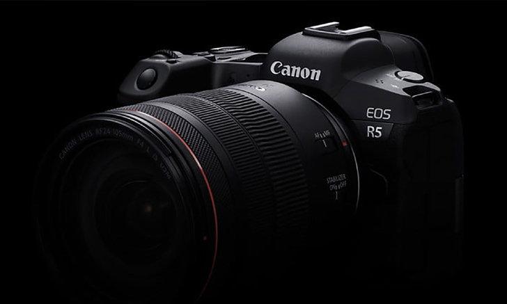 เปิดราคาไทย Canon EOS R5 และ R6 กล้องมิเรอร์เลส Full-frame สเปกจัดเต็ม!