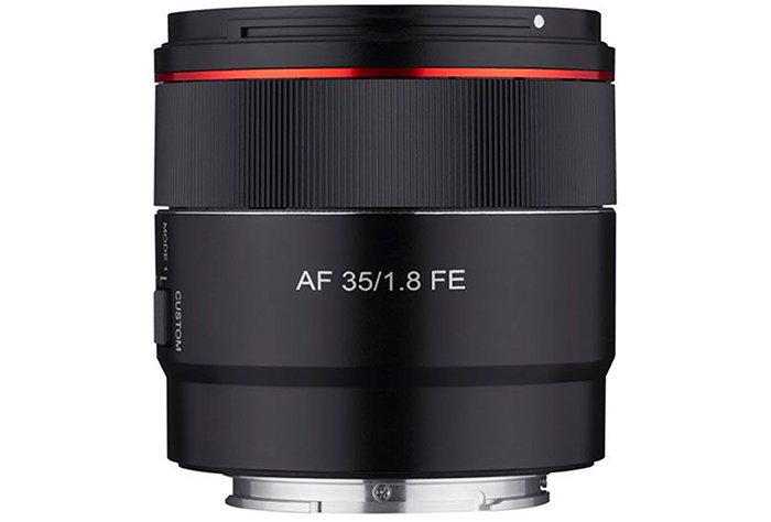 Samyang 35mm f/1.8 FE