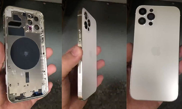 A popular foreign web site reveals a clip showing the back of the iPhone 12 Pro, along with a new LiDAR and wireless charging system. AHR0cHM6Ly9zLmlzYW5vb2suY29tL2hpLzAvdWQvMzAyLzE1MTA0OTcvaXBob25lMTJfdHQuanBn