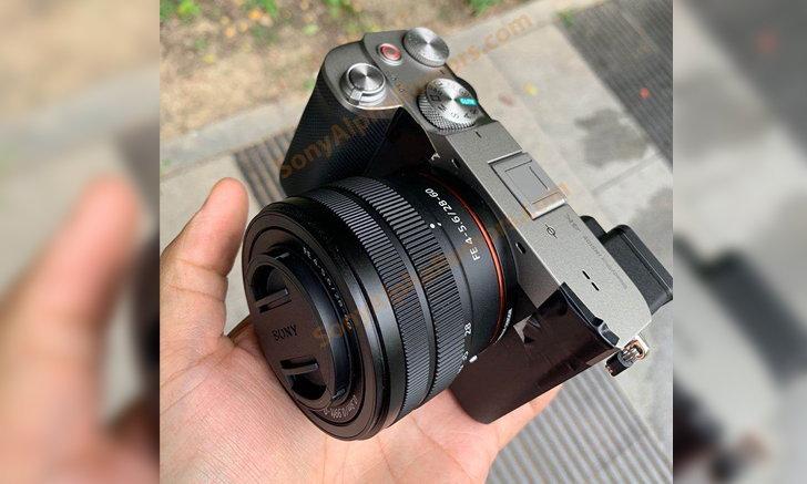 เผยภาพหลุดแรกของกล้อง Sony A7c พร้อมเลนส์ Kit ตัวใหม่ 28-60mm f/4-5.6