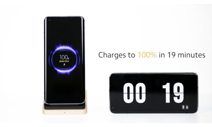 Xiaomi เผยที่ชาร์จไฟไร้สายกำลัง 80W ที่ชาร์จไฟเต็ม 100 ในเวลา 19 นาที