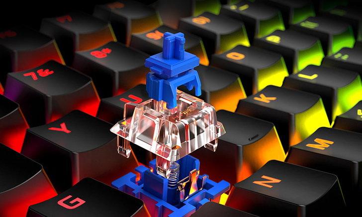 HyperX เพิ่มไลน์คีย์บอร์ดเกมมิ่ง Alloy Origins ที่มาพร้อม Blue Mechanical Switches