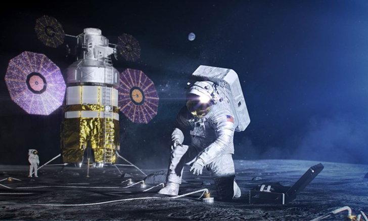 สัญญาณเหนือโลก! โนเกียเตรียมพร้อมติดตั้งเครือข่ายมือถือบนดวงจันทร์