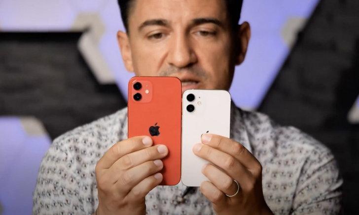 มาชมคลิป iPhone 12 Mini มือถือ 5G เล็กที่สุดในโลก ที่ยังไม่ขายแต่มี Hands On จากต่างประเทศ