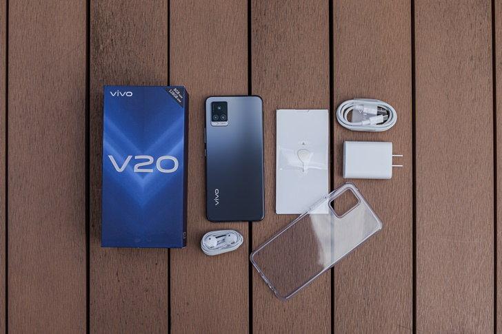 Vivo V20 แกะกล่อง