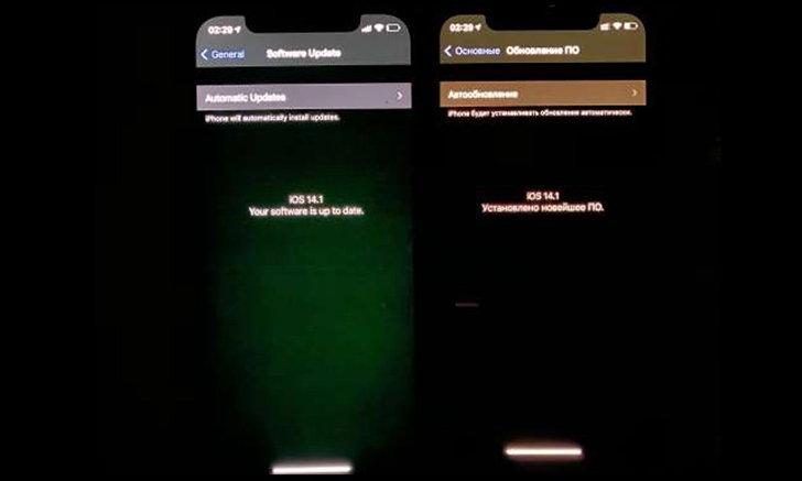 """พบ """"iPhone 12"""" บางส่วนมีอาการหน้าจอแสดงผล """"ผิดปกติ"""""""