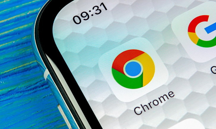 google-chrome-on-iphone-x-xs
