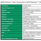 มาแล้วโน้ตบุค Ultraportable เครื่องแรกที่ใช้ AMD Athlon Neo