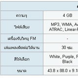 Sony : Walkman Video MP3 NW-A806
