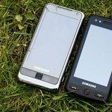คู่เหมือน Omnia ในชื่อรุ่นว่า Samsung M8800 กล้อง 8 ล้าน