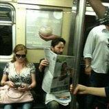 อุต๊ะ เจอเซเลปในรถไฟใต้ดิน
