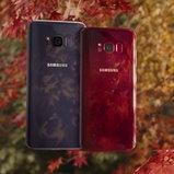 Samsung Galaxy S8 สีแดง
