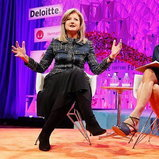 Arianna Huffington, CEO of Thrive Global and Uber board member