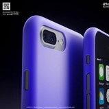ภาพเรนเดอร์ iPhone 7 และ iPhone 7 Plus