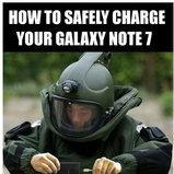 รวมภาพล้อเลียน Samsung Galaxy Note7