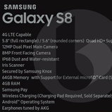 Spec Samsung Galaxy S8