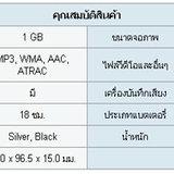 Sony : Walkman MP3 NW-S203F
